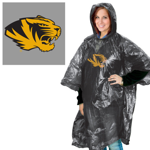 Missouri Tigers Rain Poncho