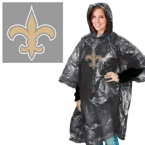 New Orleans Saints Rain Poncho