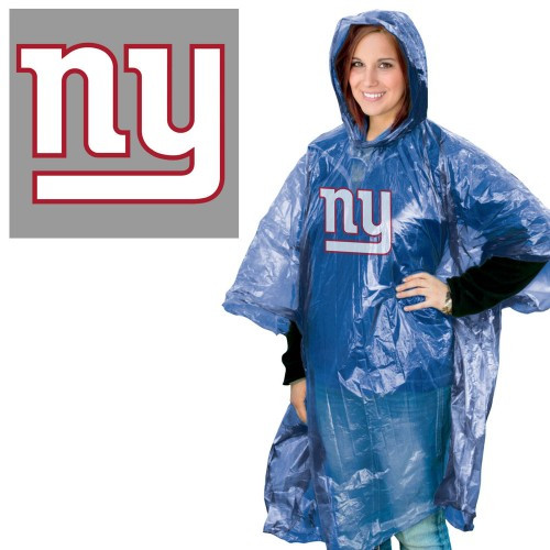 New York Giants Rain Poncho