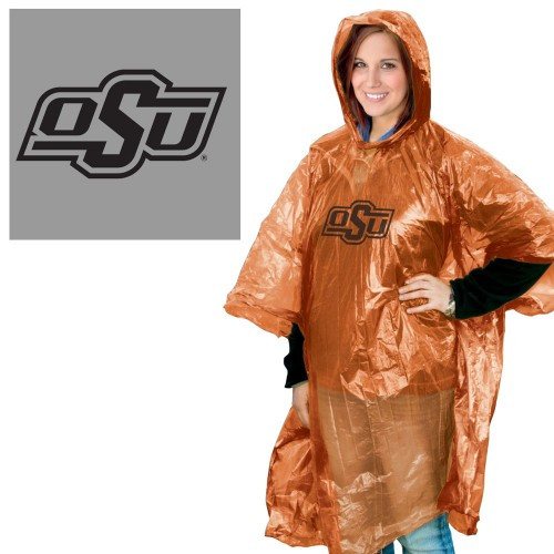 Oklahoma State Cowboys Rain Poncho Special Order