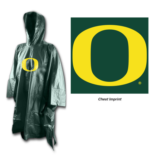 Oregon Ducks Rain Poncho