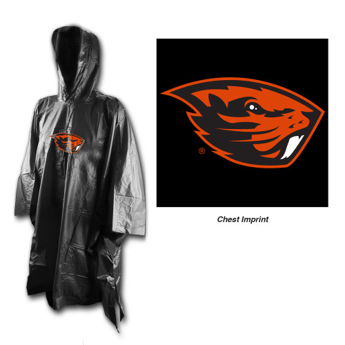 Oregon State Beavers Rain Poncho Special Order