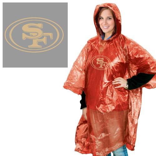 San Francisco 49ers Rain Poncho