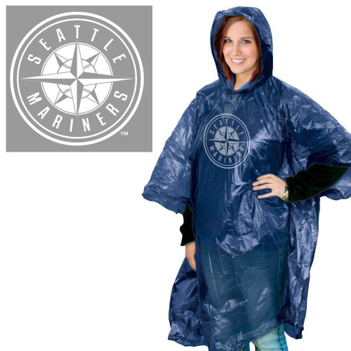 Seattle Mariners Rain Poncho Special Order