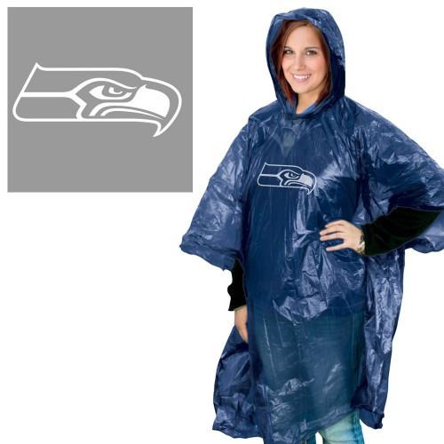 Seattle Seahawks Rain Poncho