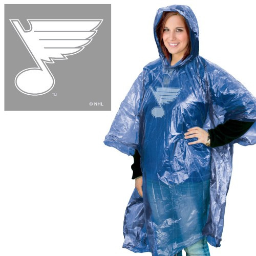 St. Louis Blues Rain Poncho Special Order