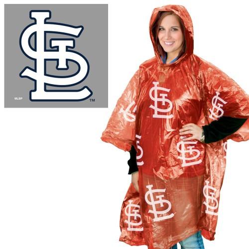 St. Louis Cardinals Rain Poncho