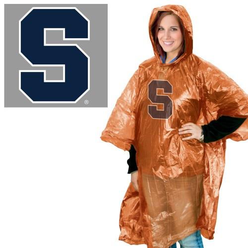 Syracuse Orange Rain Poncho Special Order