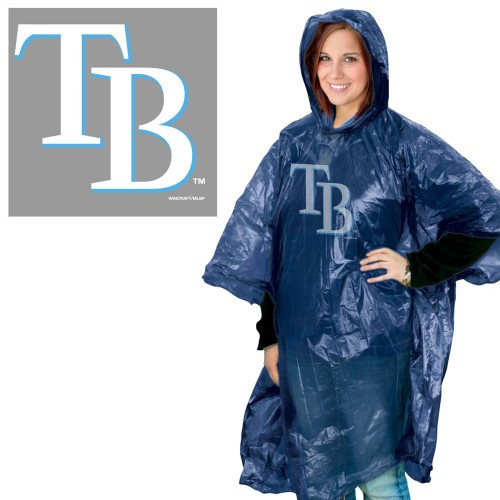 Tampa Bay Rays Rain Poncho Special Order