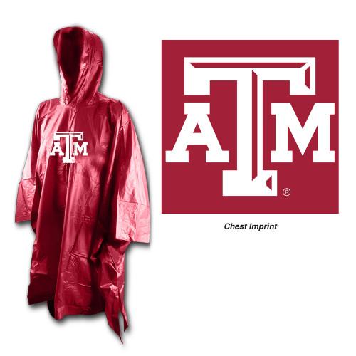 Texas A&M Aggies Rain Poncho