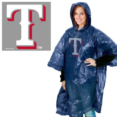 Texas Rangers Rain Poncho Special Order