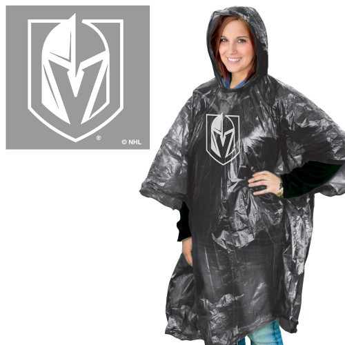 Vegas Golden Knights Rain Poncho Special Order