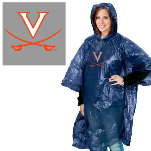 Virginia Cavaliers Rain Poncho Special Order