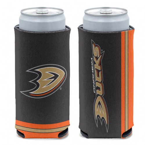 Anaheim Ducks Can Cooler Slim Can Design Special Order