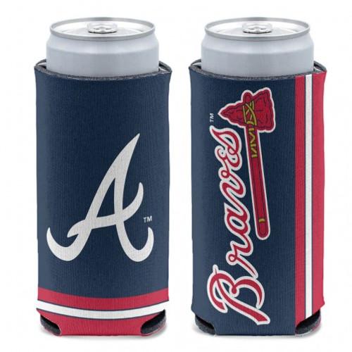 Atlanta Braves Can Cooler Slim Can Design Special Order