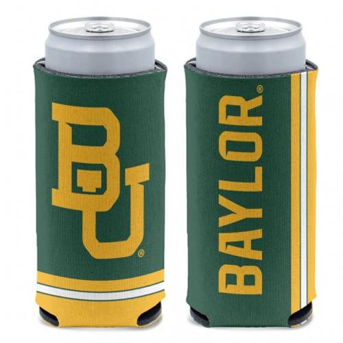 Baylor Bears Can Cooler Slim Can Design Special Order