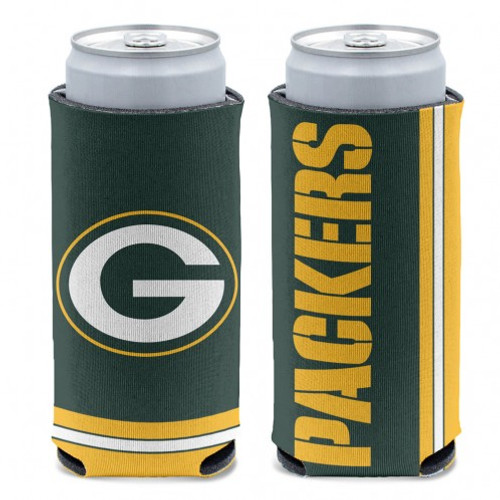 Green Bay Packers Can Cooler Slim Can Design Special Order