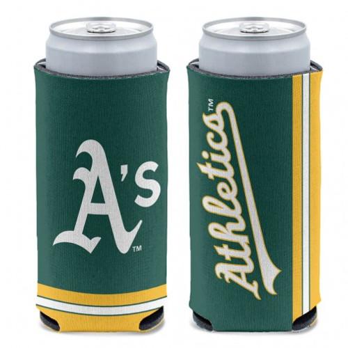 Oakland Athletics Can Cooler Slim Can Design Special Order