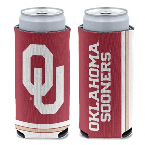Oklahoma Sooners Can Cooler Slim Can Design Special Order