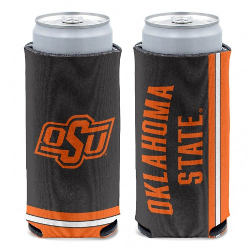 Oklahoma State Cowboys Can Cooler Slim Can Design Special Order