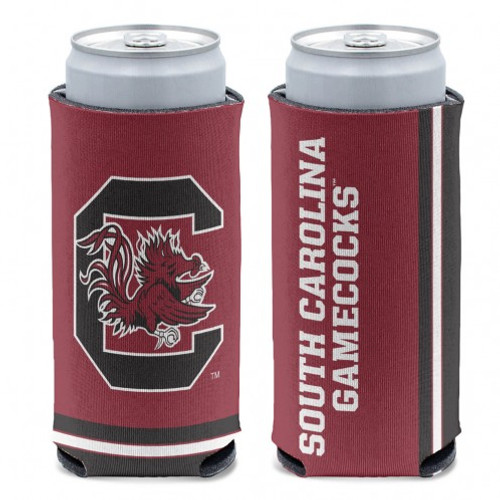 South Carolina Gamecocks Can Cooler Slim Can Design Special Order