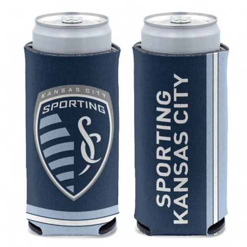 Sporting Kansas City Can Cooler Slim Can Design Special Order