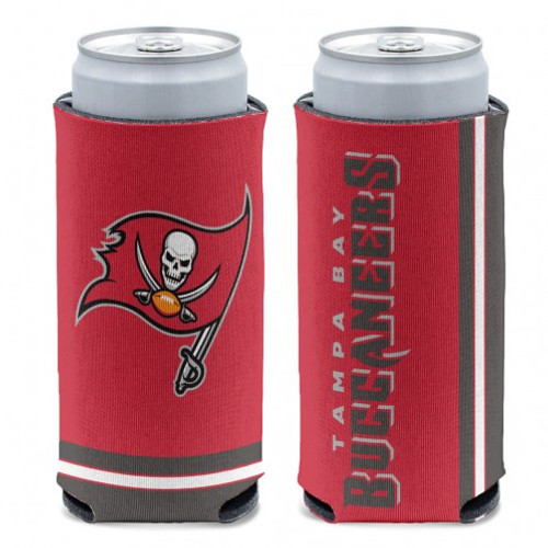 Tampa Bay Buccaneers Can Cooler Slim Can Design Special Order