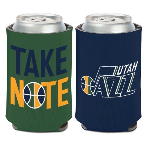 Utah Jazz Can Cooler Slim Can Design Special Order