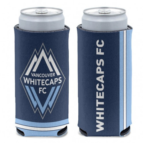 Vancounver Whitecaps Can Cooler Slim Can Design Special Order