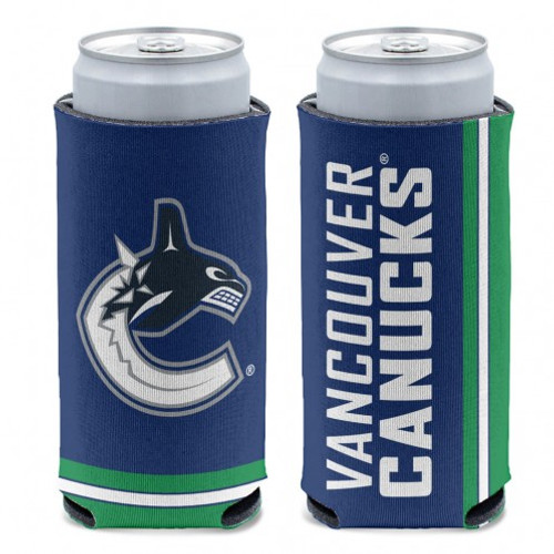 Vancouver Canucks Can Cooler Slim Can Design Special Order