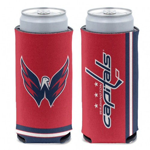 Washington Capitals Can Cooler Slim Can Design Special Order