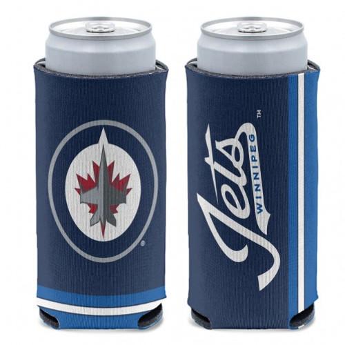Winnipeg Jets Can Cooler Slim Can Design Special Order