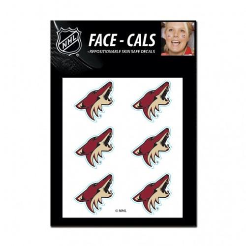 Arizona Coyotes Tattoo Face Cals Special Order