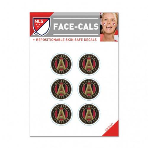 Atlanta United FC Tattoo Face Cals Special Order