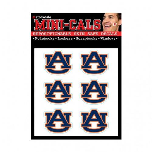 Auburn Tigers Tattoo Face Cals