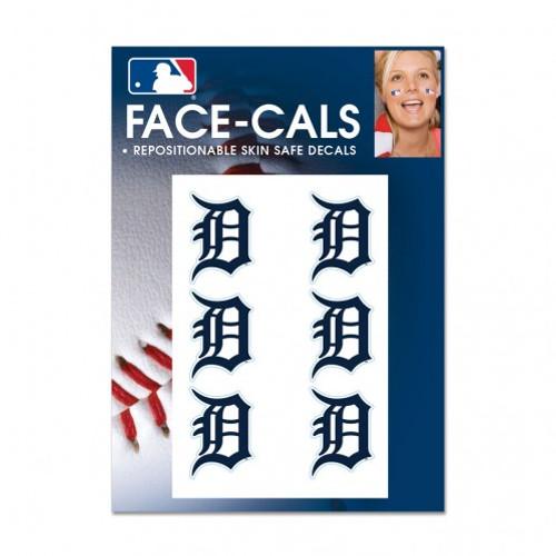 Detroit Tigers Tattoo Face Cals Special Order