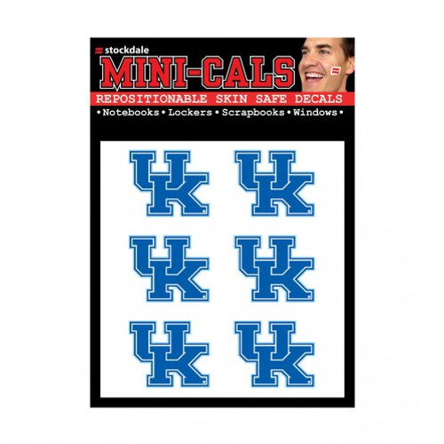 Kentucky Wildcats Tattoo Face Cals