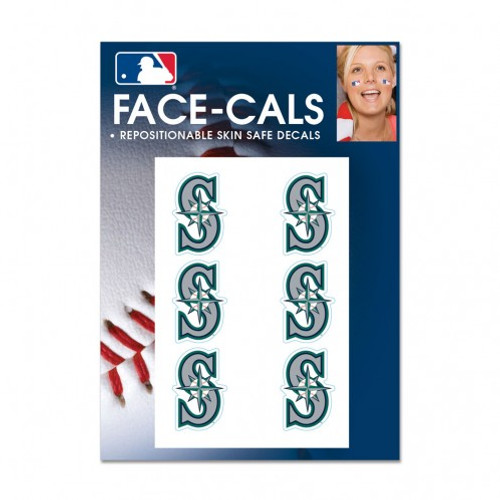 Seattle Mariners Tattoo Face Cals Special Order