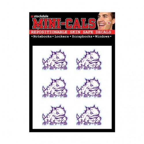 TCU Horned Frogs Tattoo Face Cals