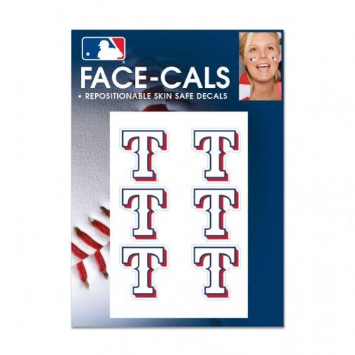 Texas Rangers Tattoo Face Cals Special Order