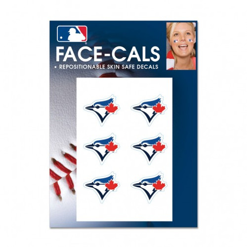 Toronto Blue Jays Tattoo Face Cals Special Order