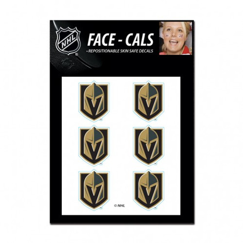 Vegas Golden Knights Tattoo Face Cals