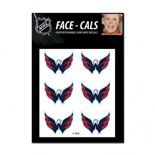 Washington Capitals Tattoo Face Cals Special Order