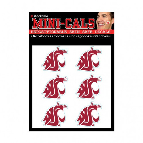 Washington State Cougars Tattoo Face Cals Special Order