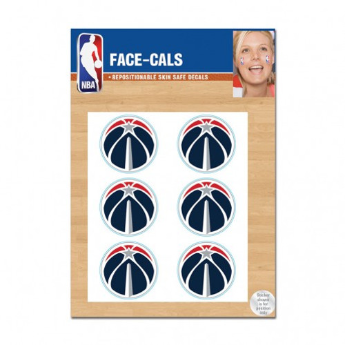 Washington Wizards Tattoo Face Cals Special Order