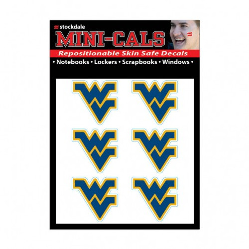 West Virginia Mountaineers Tattoo Face Cals Special Order