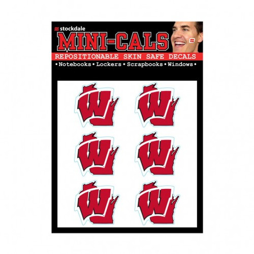 Wisconsin Badgers Tattoo Face Cals
