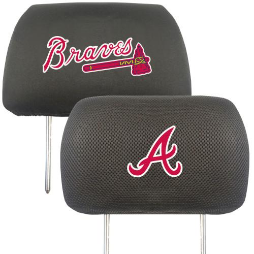Atlanta Braves Headrest Covers FanMats