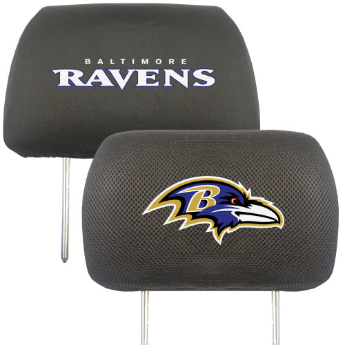 Baltimore Ravens Headrest Covers FanMats