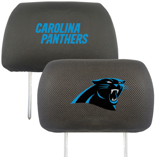 Carolina Panthers Headrest Covers FanMats